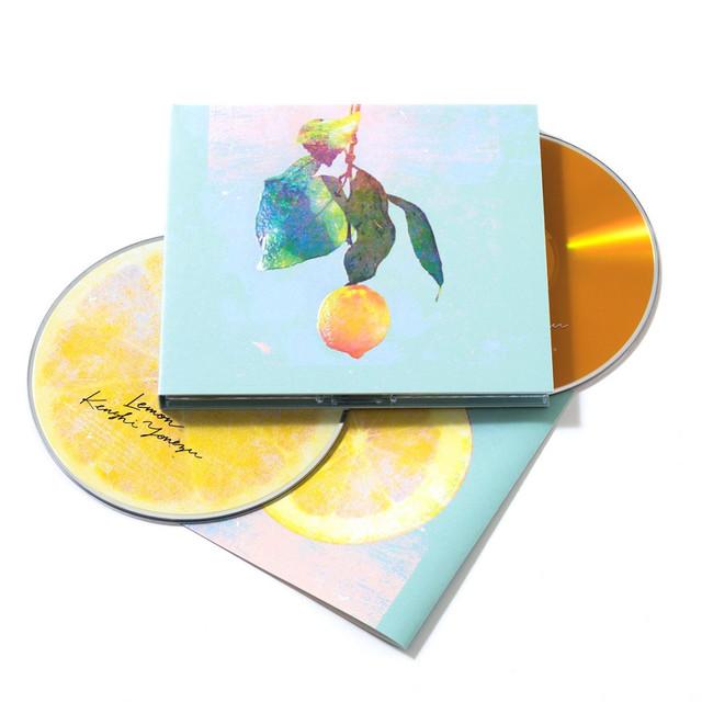 米津玄師「Lemon」映像盤商品写真。