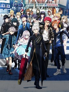 アニメ「K SEVEN STORIES」キービジュアル (c)GoRA・GoHands / k-7project