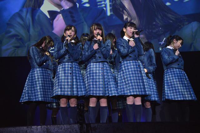 22/7「割り切れないライブ ~シャンプーの匂いがした~」東京・ディファ有明公演の様子。