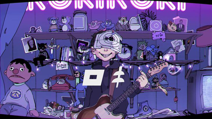 みきとP「ロキ」MVのワンシーン。