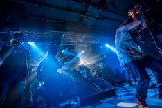 イイカワケン(Tp / HEY-SMITH)を迎えて演奏された「風」の様子。(Photo by HayachiN)