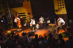 関取花「朝稽古ツアー」東京・渋谷duo MUSIC EXCHANGE公演の様子。(撮影:高田梓)