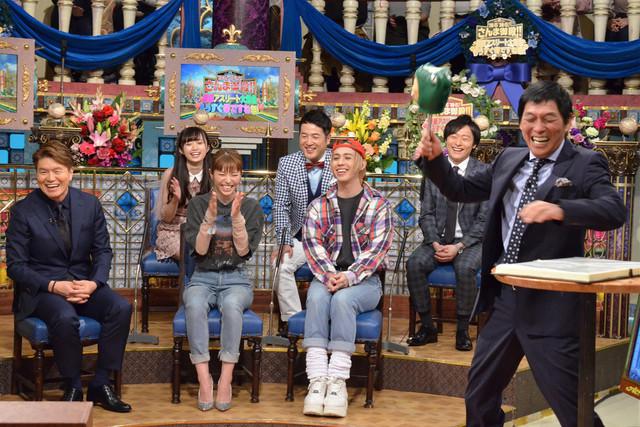 「踊る!さんま御殿!!」の様子。(c)日本テレビ