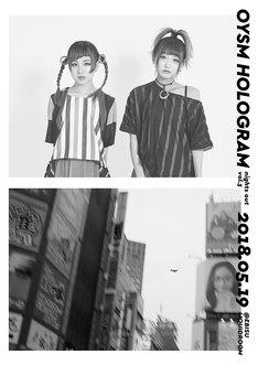 おやすみホログラム「nights out vol.3」ポスター
