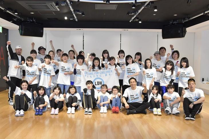 「ダンスで日本を元気に!夢の課外授業SPECIAL in仙台」の様子。