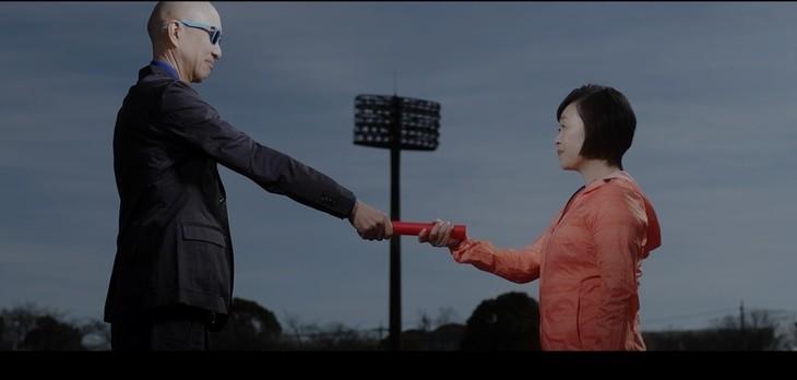 サンプラザ中野くん「Runner(平成30年 Ver.)」MVのワンシーン。
