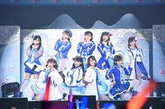 3月11日に行われたイベント「ラブライブ!サンシャイン!!Aqours クラブ活動 LIVE & FAN MEETING ~Landing action Yeah!!~」の様子。(c)2017 プロジェクトラブライブ!サンシャイン!!