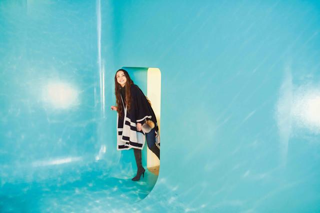 安室奈美恵「GIFT」より、石川・金沢でのオフショット。