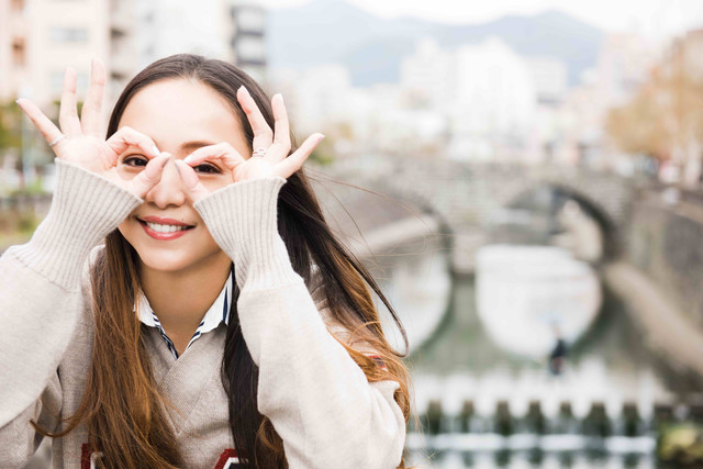 安室奈美恵「GIFT」より、長崎でのオフショット。