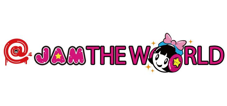 「@JAM THE WORLD」ロゴ