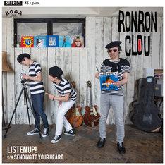RON RON CLOU「Listen Up!」ジャケット