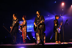 GLAY「GLAY ARENA TOUR 2018 SPRINGDELICS」台湾・台北アリーナ公演の様子。