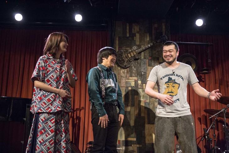 左からマギー、バカリズム、竹原ピストル。(c)日本テレビ
