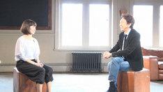 左から木田真理子、布袋寅泰。(写真提供:NHK)