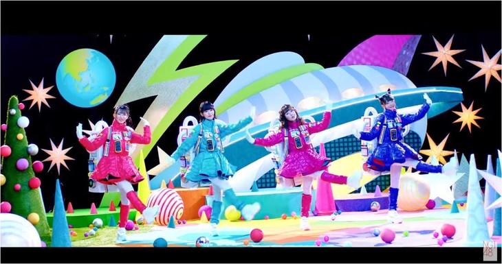 NGT48「あとで」ミュージックビデオのワンシーン。