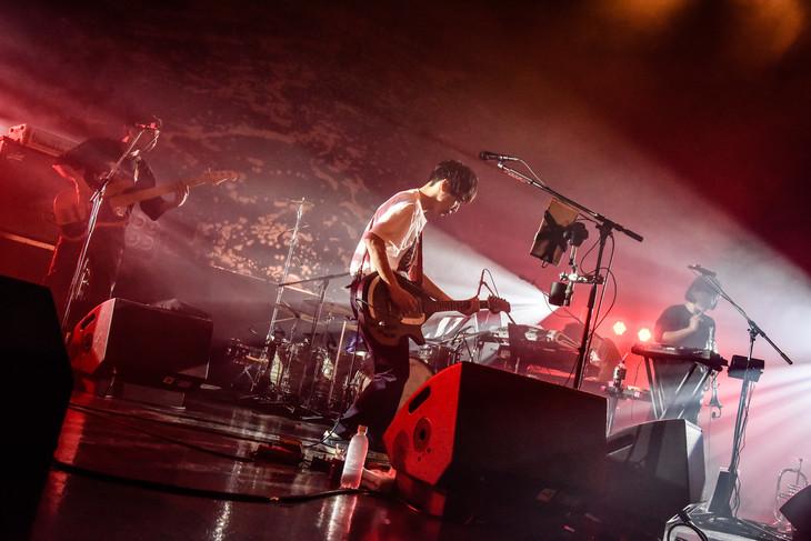 くるり「ライブツアー『線』」最終公演の様子。(Photo by AZUSA TAKADA)