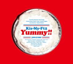 Kis-My-Ft2「Yummy!!」初回限定盤Aジャケット