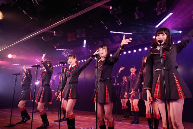 AKB48チーム8 結成4周年記念公演前夜祭「会いたかった」夜公演の様子。(c) AKS