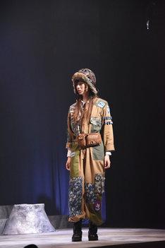 梅澤美波演じるリンドバーグ。