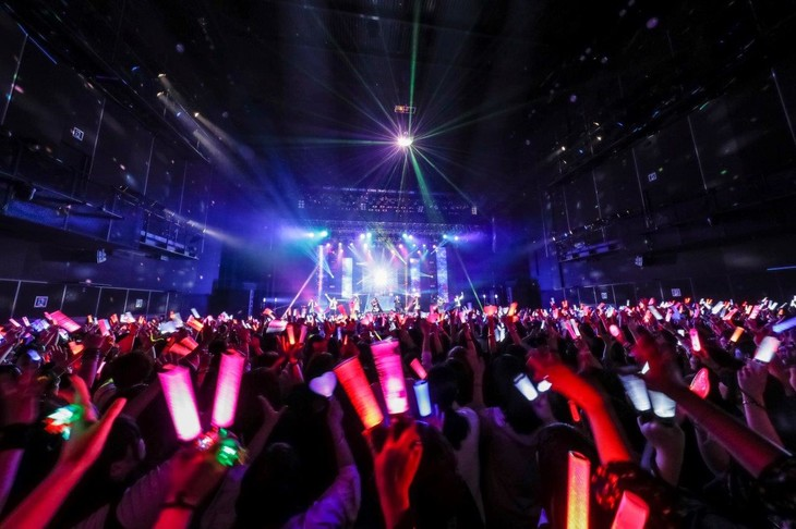 「XYZ TOUR 2018 -DJ Style-」最終公演の様子。(撮影:小松陽祐[ODD JOB]、加藤千絵)