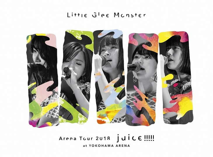 Little Glee Monster「Little Glee Monster Arena Tour 2018 - juice !!!!! - at YOKOHAMA ARENA」初回限定盤ジャケット