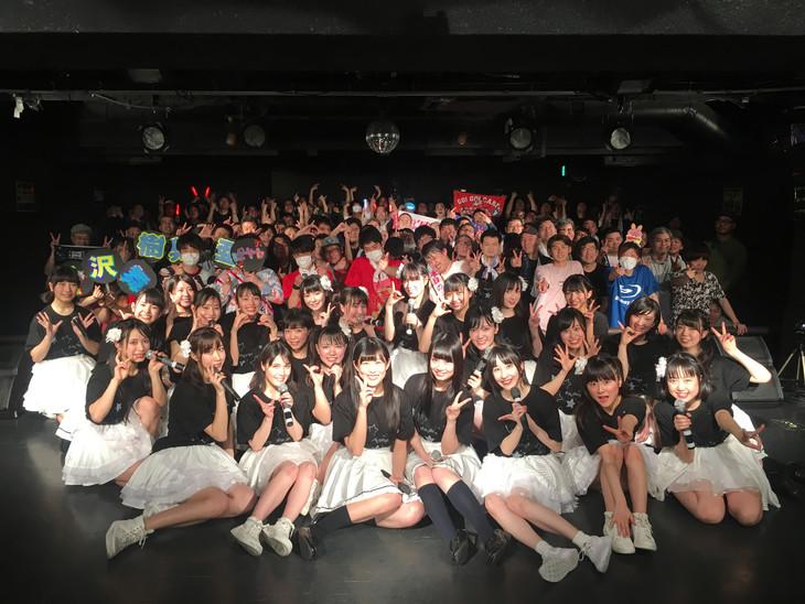アイドルカレッジ「アイカレボリューション2018 革命的な春の東名阪ツアー」愛知・名古屋ライブホールM.I.D公演の様子。