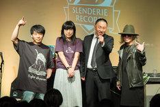 「SLENDERIE RECORD SPRING FAIR」の様子。