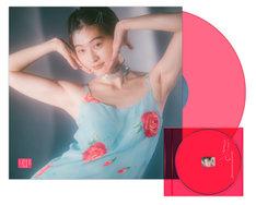 水曜日のカンパネラ「ガラパゴス」CDおよびアナログイメージ写真。