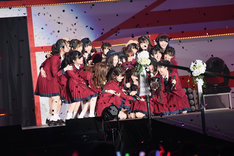 NGT48「北原里英卒業コンサート~夢の 1115 日 新潟の女になりました!~」の様子。