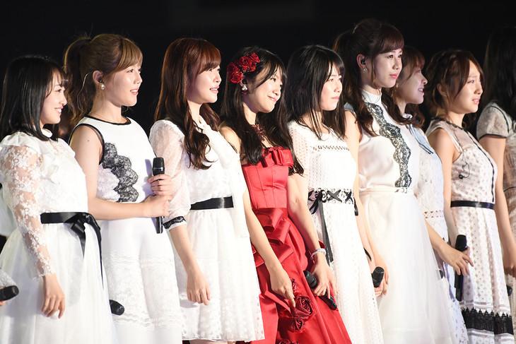 NGT48「北原里英卒業コンサート~夢の1115日 新潟の女になりました!~」の様子。