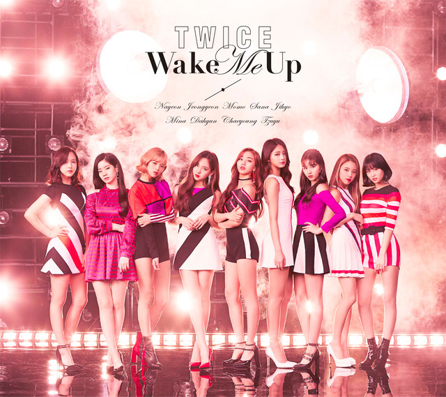 TWICE「Wake Me Up」初回限定盤Aジャケット