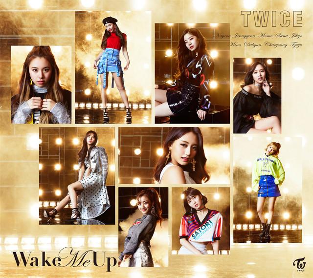 TWICE「Wake Me Up」初回限定盤Bジャケット