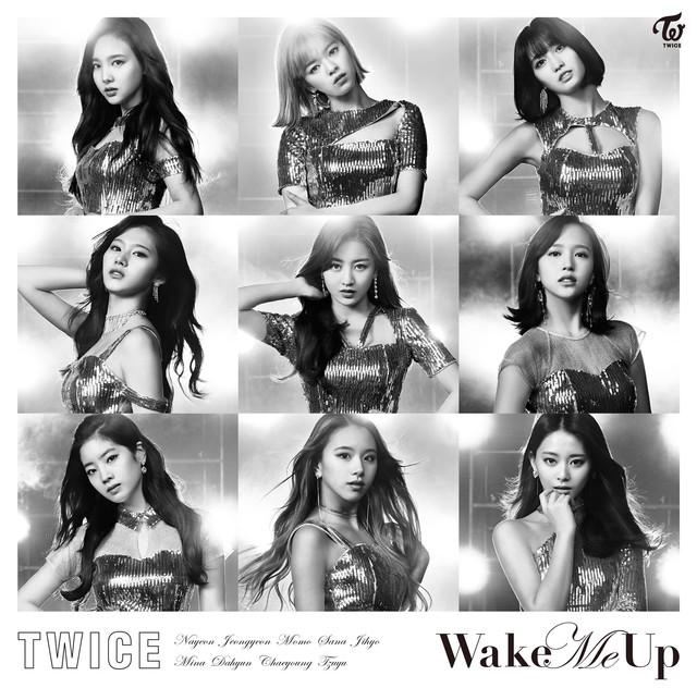 TWICE「Wake Me Up」ONCE JAPAN限定盤ジャケット