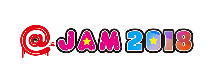 「@JAM 2018」ロゴ