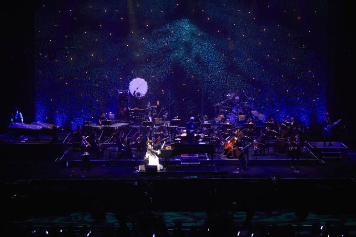 「和楽器バンド×The WGB Symphonic Orchestra」のワンシーン。