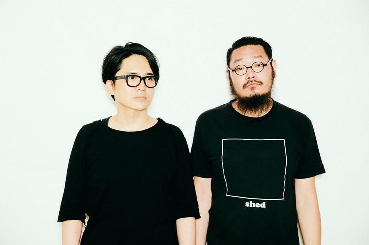 左からフルカワユタカ、原昌和(the band apart)。