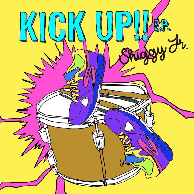 Shiggy Jr.「KICK UP!! E.P.」初回限定盤ジャケット