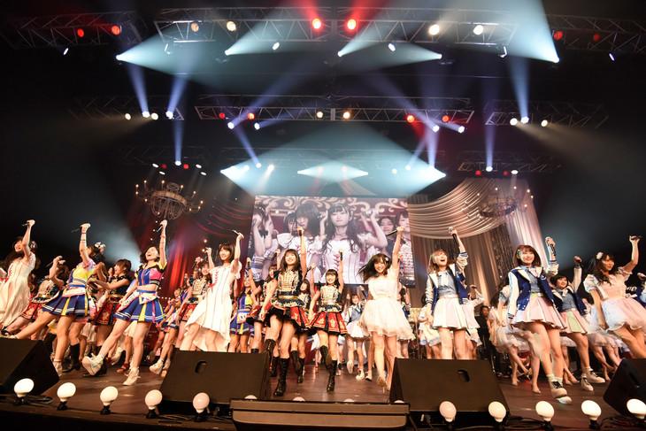 「第7回 AKB48紅白対抗歌合戦」の様子。(c)フジテレビ