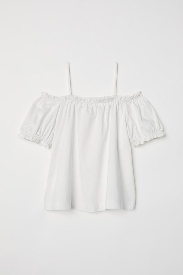「Namie Amuro × H&M」オフショルダートップス