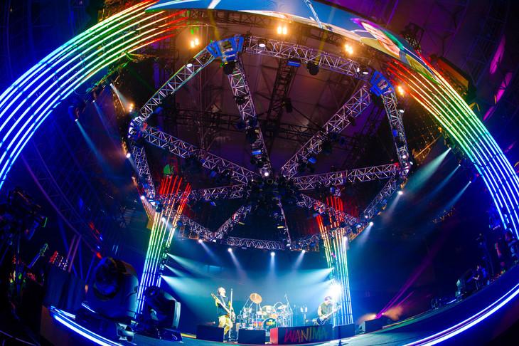 WANIMA「Everybody!! TOUR」千葉・幕張メッセ国際展示場9~11ホール公演の様子。(撮影:瀧本 JON... 行秀)