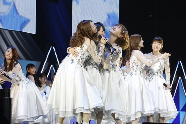 「生駒里奈 卒業コンサート」の様子。