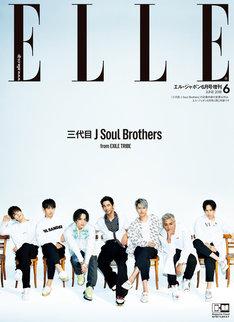 「ELLE Japon」6月号 三代目J Soul Brothers 全員カット版表紙