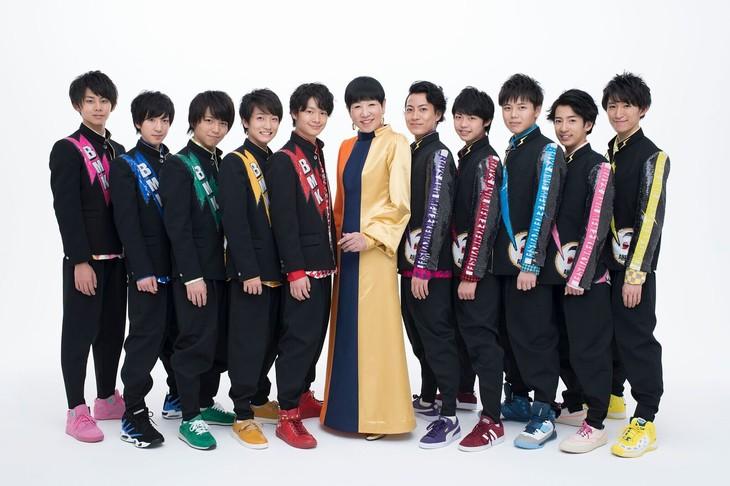 和田アキ子 with BOYS AND MEN研究生