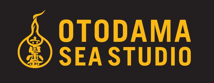 「OTODAMA SEA STUDIO」ロゴ