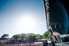 レキシ「レキシのライブに遊びに来ねの~~」の様子。(撮影:田中聖太郎)