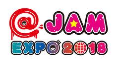 「@JAM EXPO 2018」ロゴ
