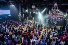 「アップアップガールズ(仮)7周年ツアー~Still Goes On!!~」の様子。(撮影:古川朋久)