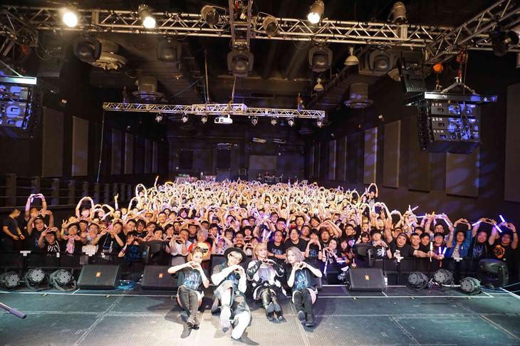 GARNiDELiA「GARNiDELiA stellacage Tour 2018~G.R.N.D.~」最終公演の様子。