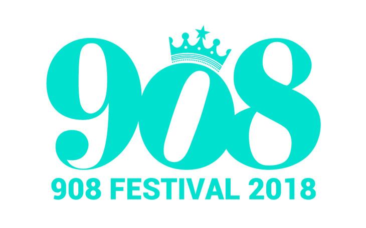 「908 FESTIVAL 2018」ロゴ