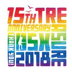 「TREASURE05X 2018」ロゴ